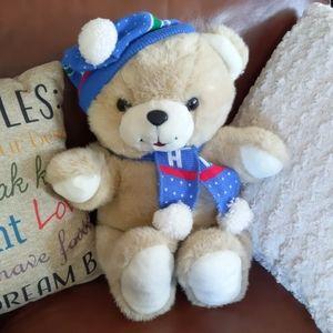 Humfrey 🧸 Teddy Bear with Hat & Scarf